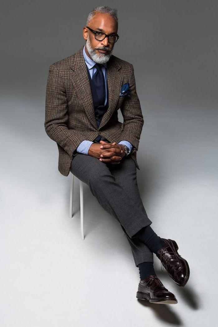 tenue de soirée homme style costume anglais gentleman