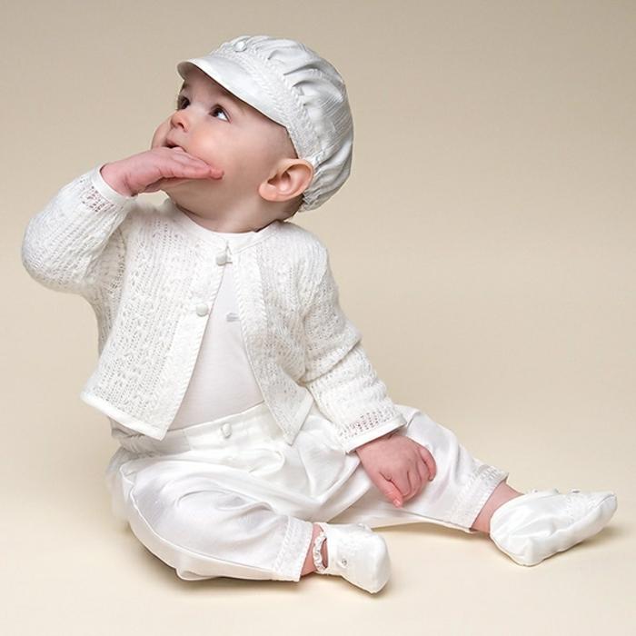 quelle tenue pour un baptême, gilet blanc, tenue de bapteme garcon