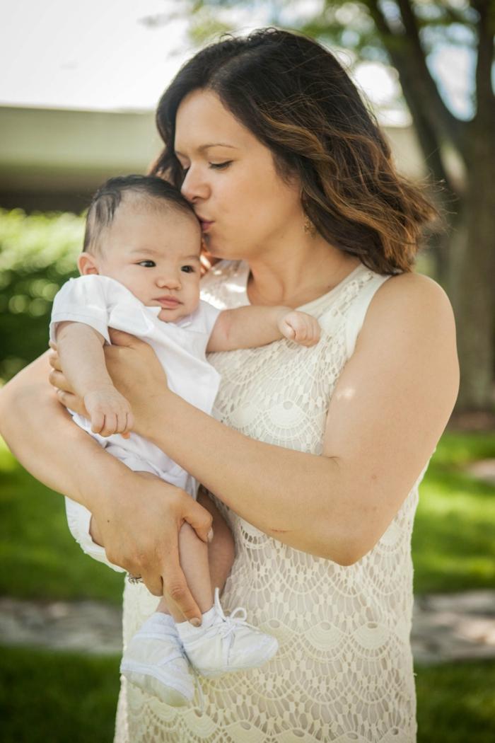 tenue bapteme, robe écru en dentelle, costume blanc pour bébé, comment s habiller pour un bapteme