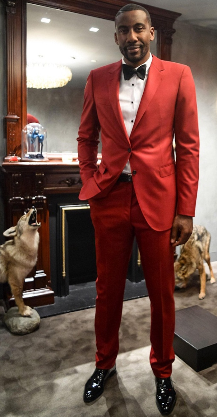costume rouge homme chic pour soirée classe