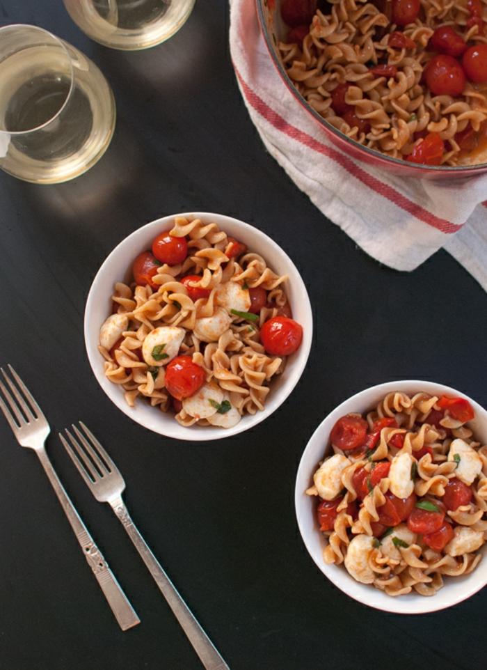 Recette salade - la salade d été, salade composee avec de pâte