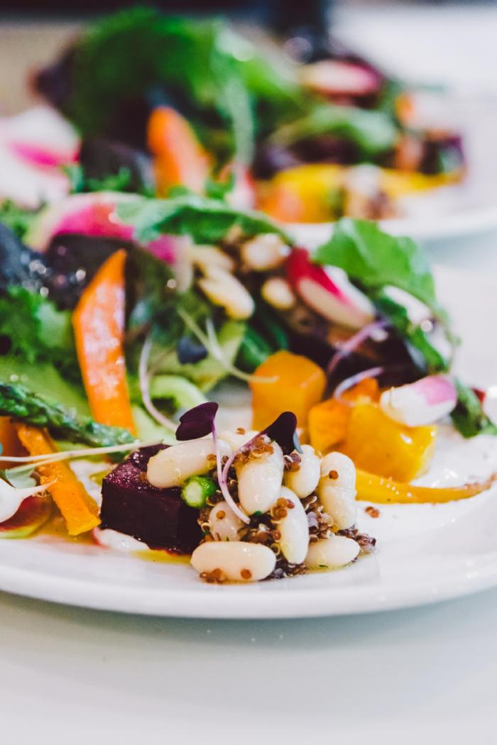 Recette salade composée; salade verte cool