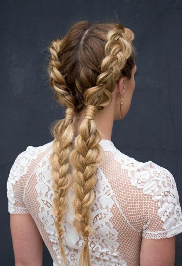 Fantastique idée coiffure boheme coiffure anniversaire moderne
