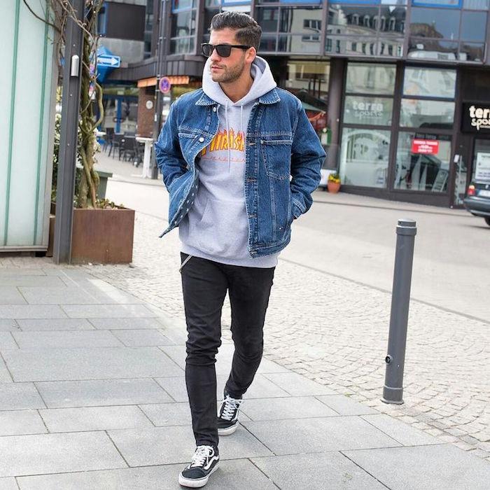 le vetement vintage veste en jean levis retro