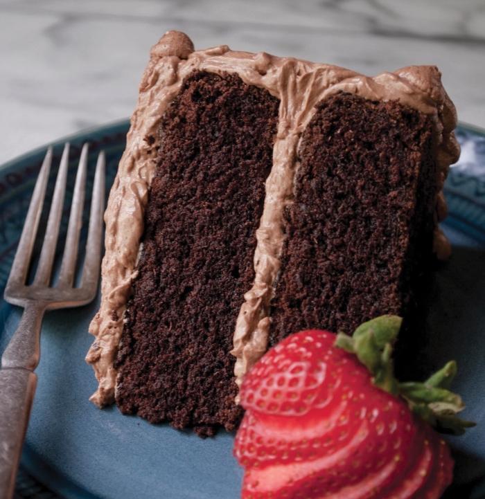comment faire un gâteau au chocolat, idée recette végétalien facile et rapide sucrée, gateau sans oeuf au chocolat