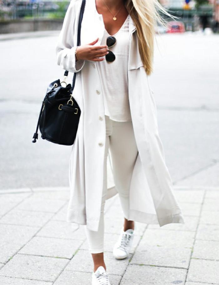Comment s habiller tendance femme tout en blanc