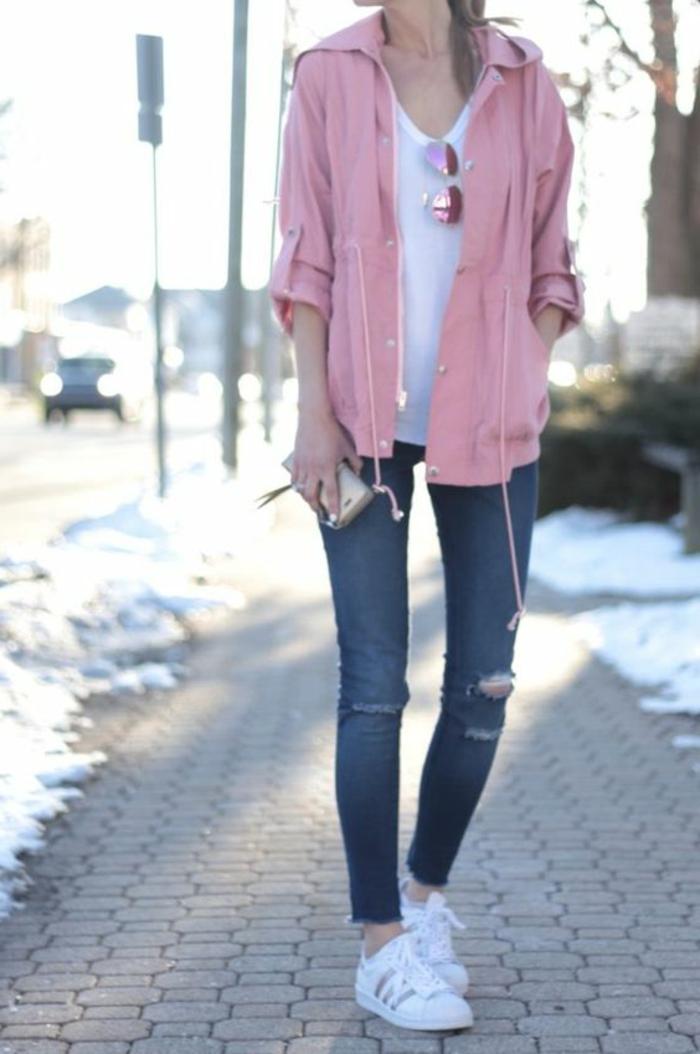 Les vestes classique pour femme tendance rose top cool