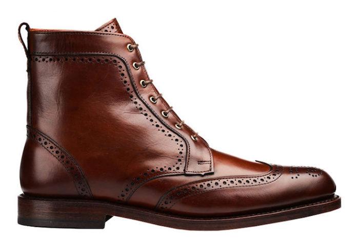 Les brogues Dalton Allen Edmonds boots cuir homme