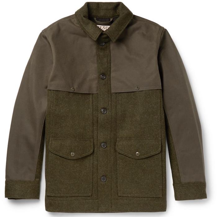veste campagne kaki field jacket filson