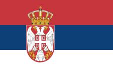 drapeau serbie-dechko-tzar-belgrade