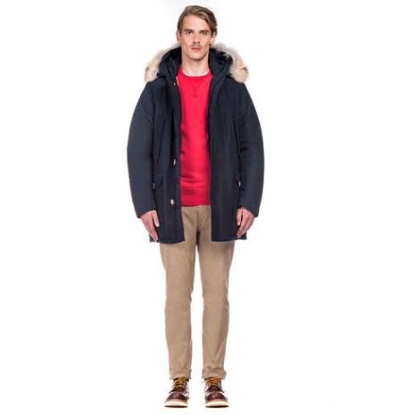 Woolrich John Rich & Bros blouson hiver homme fourrure