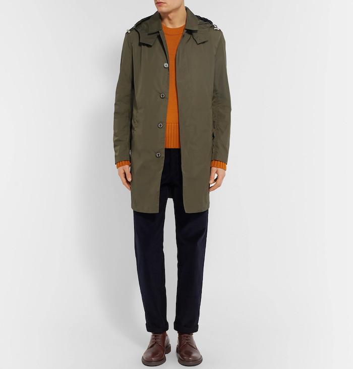 manteau long homme pluie imperméable raincoat MACKINTOSH