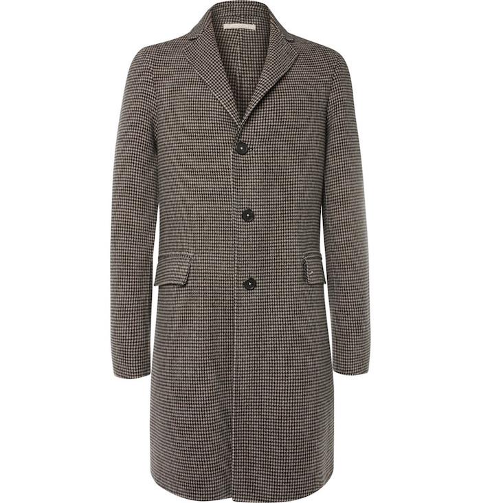 pardessus homme en laine Austin Massimo Alba gris duffle coat
