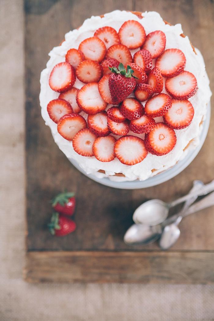 Excellent gâteau au yaourt aux fruits anniversaire