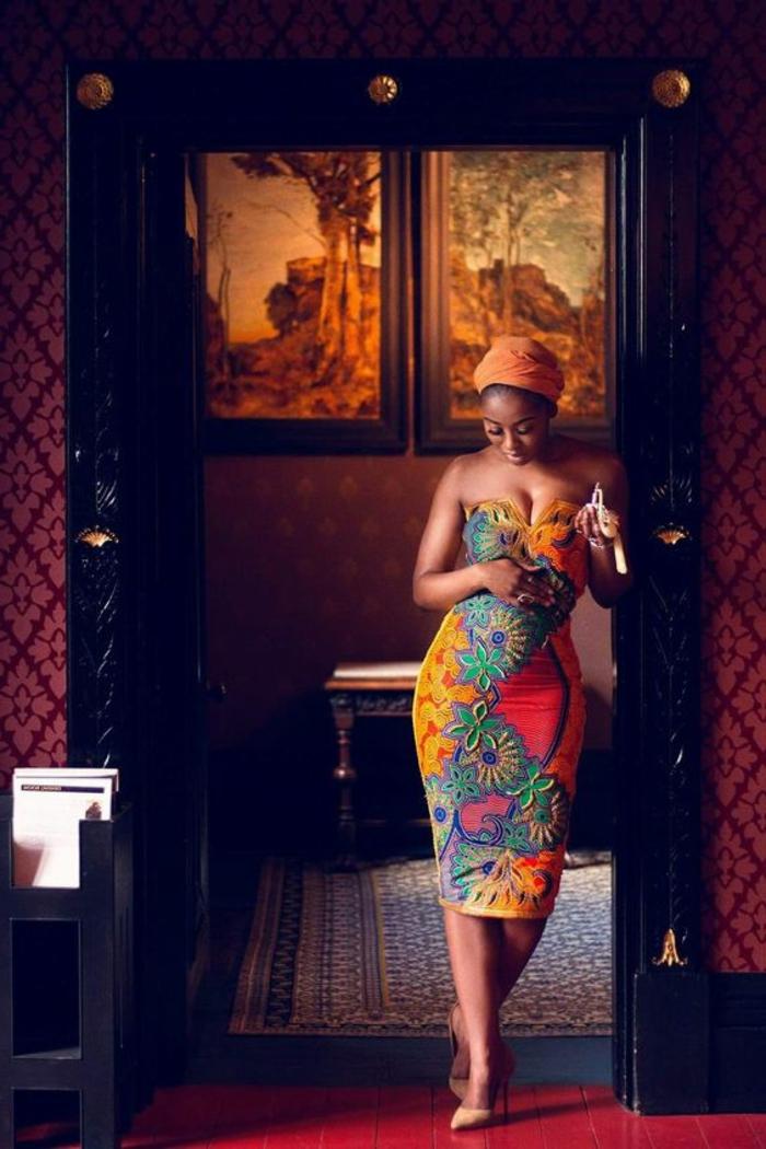Le pagne africain \u2013 de la tradition à la mode