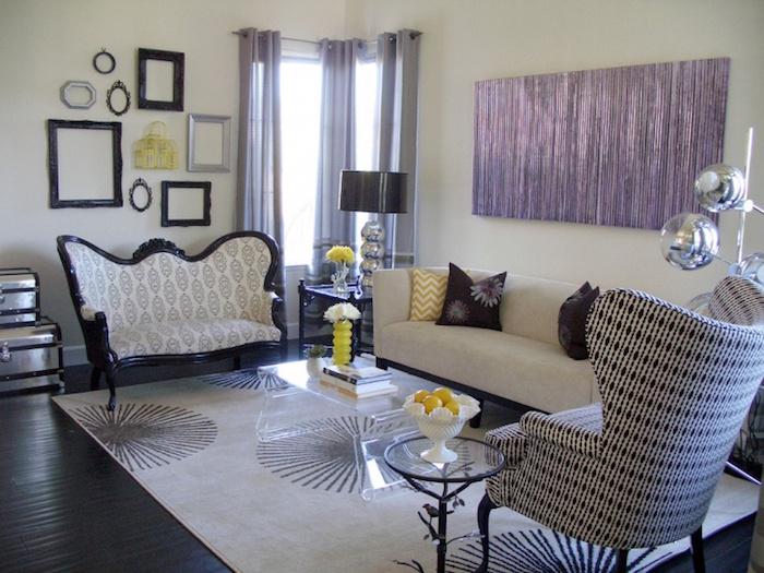 salon idée déco meubles style ancien renaissance