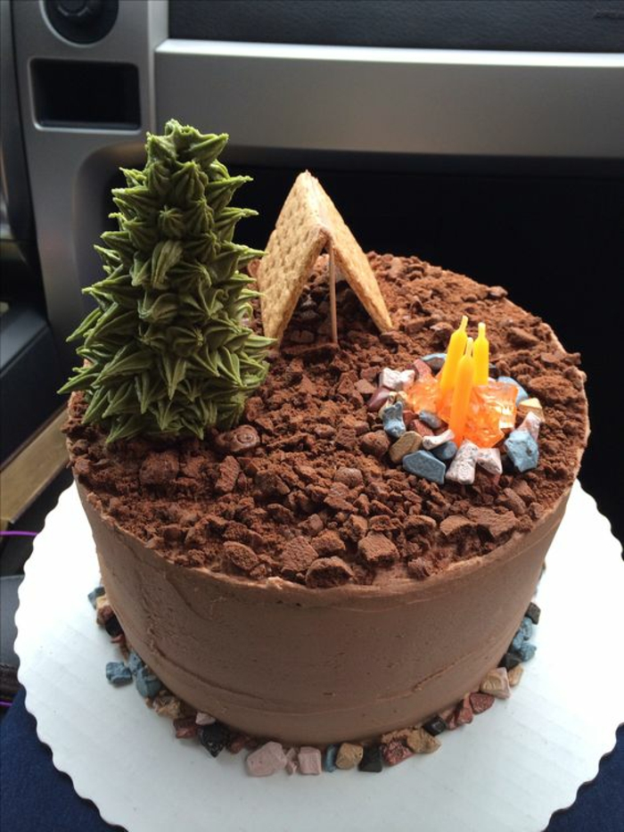 Le meilleur gâteau d'anniversaire pour homme