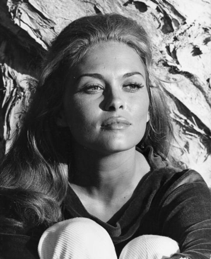 année 60, la coiffure de Faye Danaway avec un volume dans la partie haute