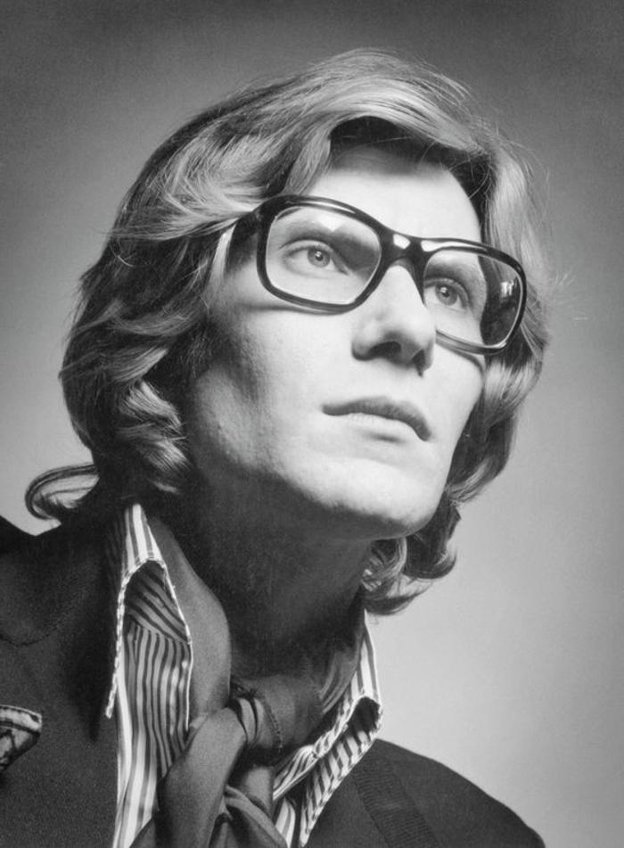 année 60 mode, Yves Saint Laurent, une des emblèmes des années soixante