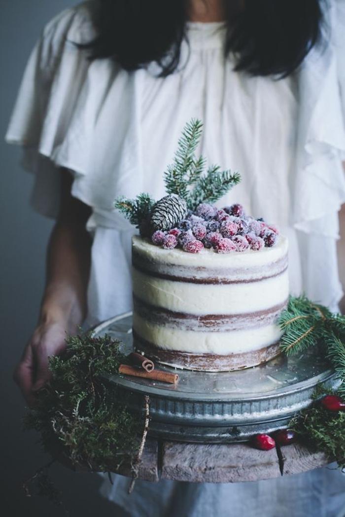 Fruit decoration gateau recette gateau fruit