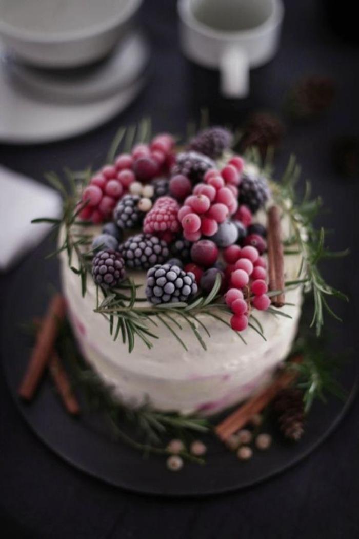 Le gateau d anniversaire aux fruits idée préparation