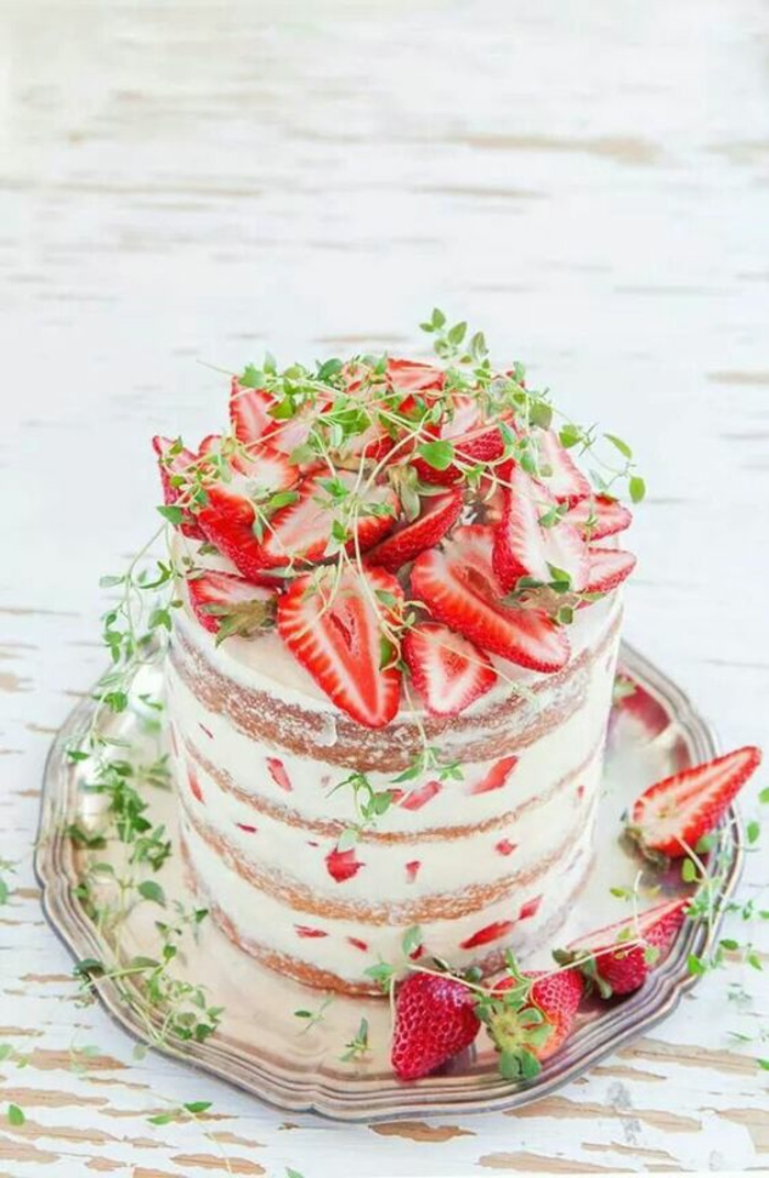 Gâteau aux fruits frais gateau leger aux fruits