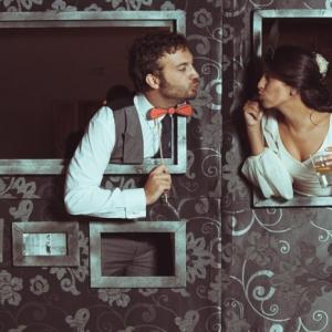 Souriez pour le photobooth mariage - 58 idées pour des photos de mariages inoubliables