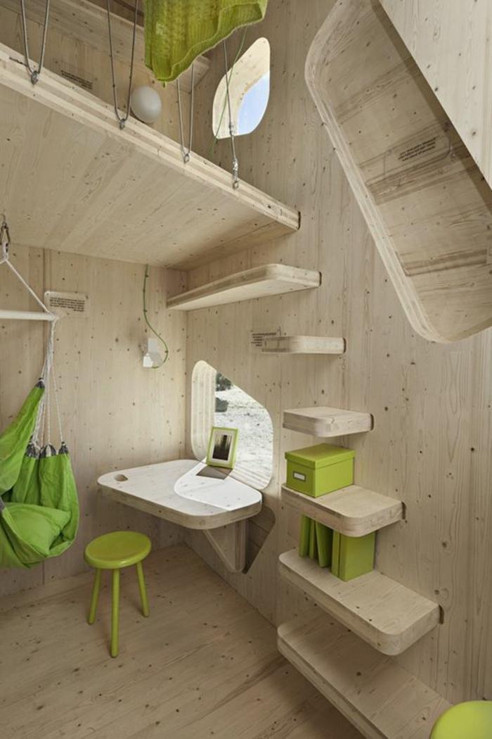 comment aménager une petite chambre, gîtes pour étudiants écolo