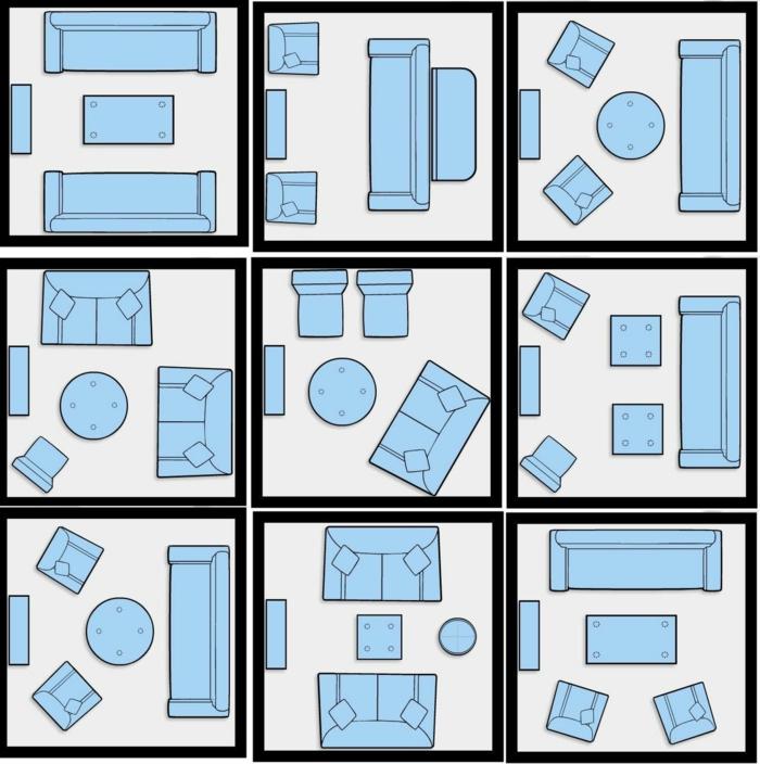 comment aménager une petite chambre, propositions visuelles pour l'équipement d'une chambre de 10 m2