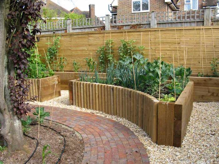 bac pour jardin surélevé faire un potager carré