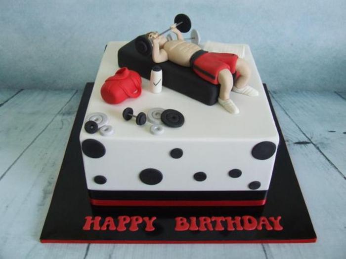 Beau gâteau d anniversaire pour homme gâteau d anniversaire original
