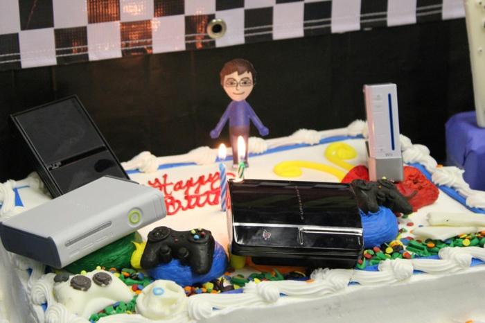 Gateau d anniversaire original adulte gateau d anniversaire recette gamer