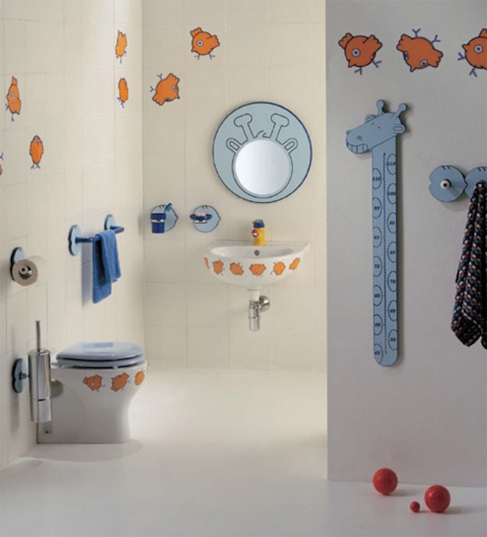 deco wc pour enfants stickers toilettes