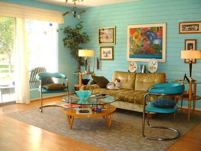 1001 id es id e d co salon vintage 40 inspirations - 1950 s living room decorating ideas ...