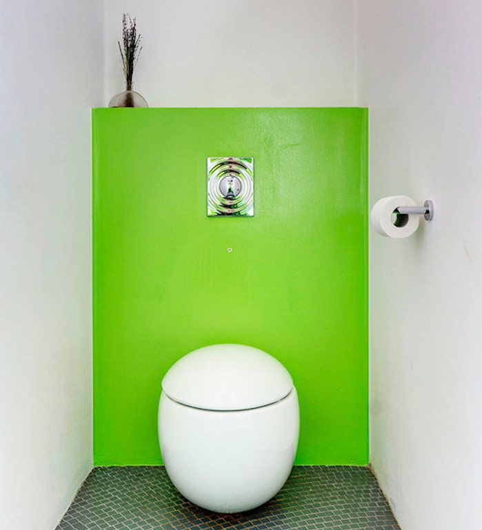 Awesome deco wc color ideas for Peinture toilette