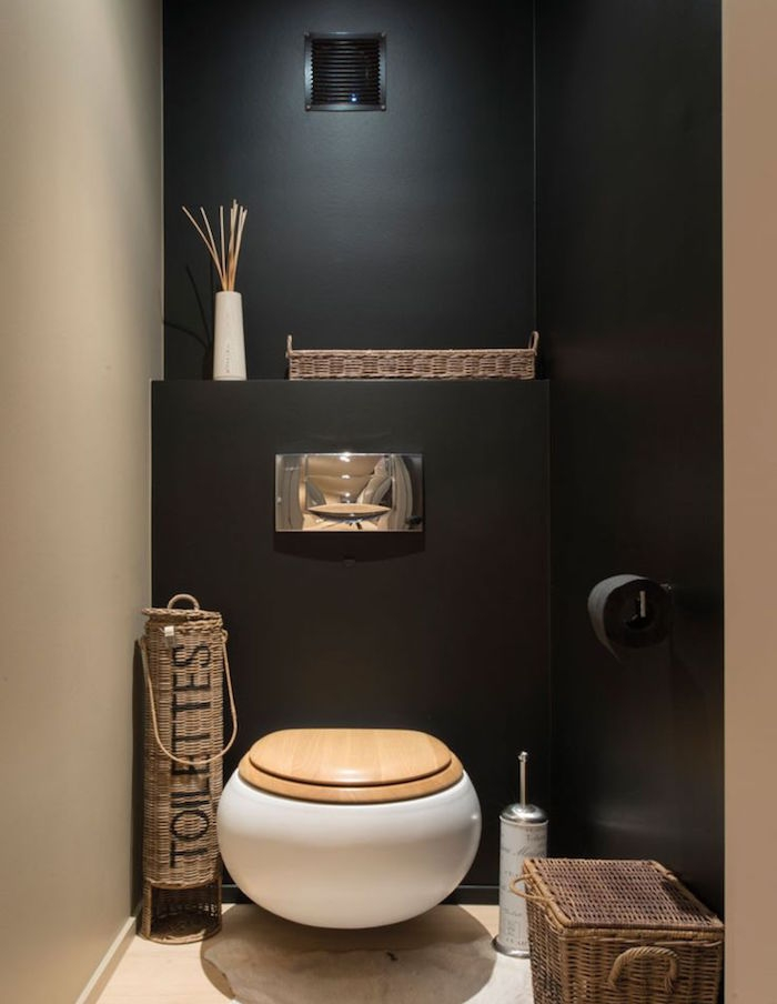 deco wc suspendu couleur. Black Bedroom Furniture Sets. Home Design Ideas