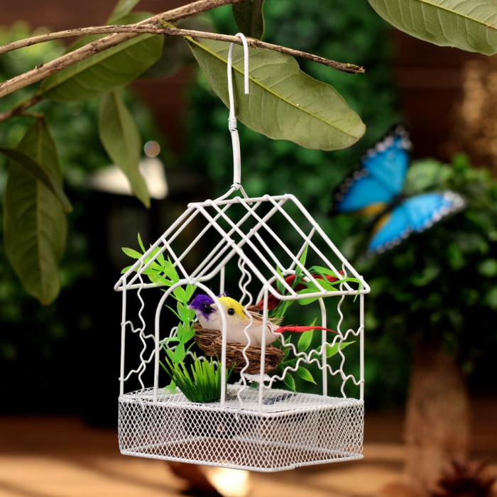 Decoration de jardin a faire soi meme good decor de jardin a faire soi meme home decore for Decorer une cage a oiseaux
