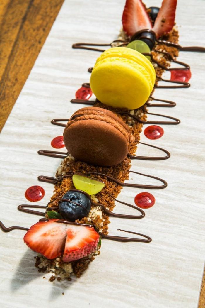 Magnifique dessert presentation assiette photos cool