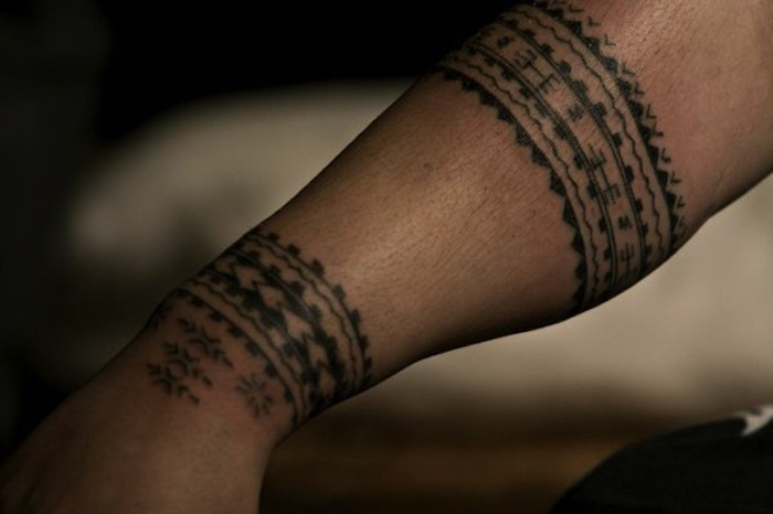 Petit Tatouage Tribal Avant Bras Kolorisse Developpement