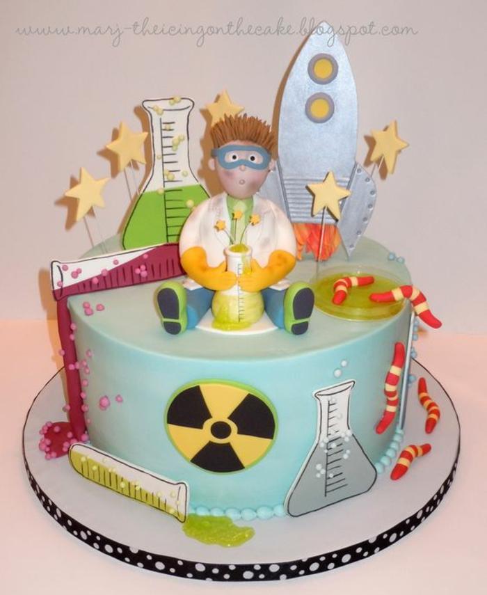 Idée gâteau anniversaire homme gateaux pour anniversaire sciènce