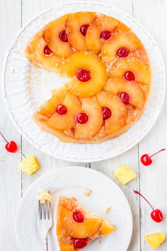 Fruit decoration gateau recette gateau fruit agréable au ananas