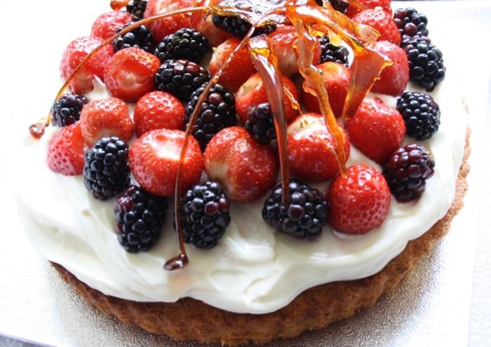 Attirant gâteau aux fruits frais gateau leger aux fruits