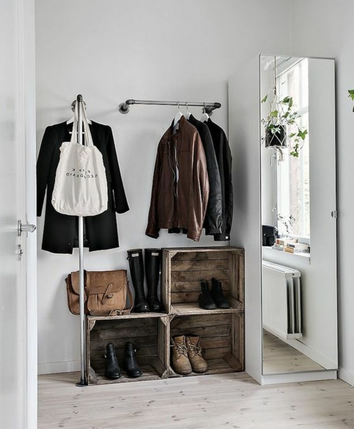 armoire chaussure miroir maison design. Black Bedroom Furniture Sets. Home Design Ideas