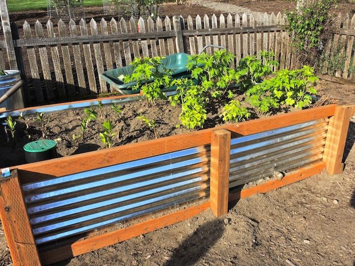 Potager palette bois cool arrosage goutte goutte for Jardin que planter