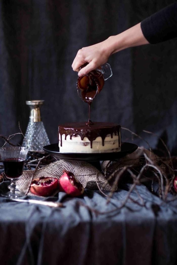Magnifique gateau anniversaire aux fruits recette merveilleuse
