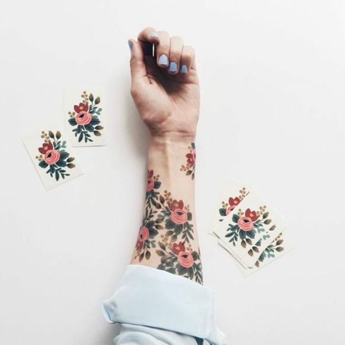 1001 Idées De Tatouage De Fleur Et Quelle Est Sa