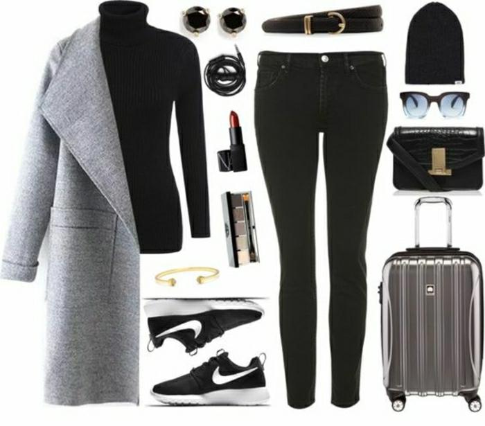 1001 id es et astuces quelle tenue pour prendre l 39 avion choisir. Black Bedroom Furniture Sets. Home Design Ideas