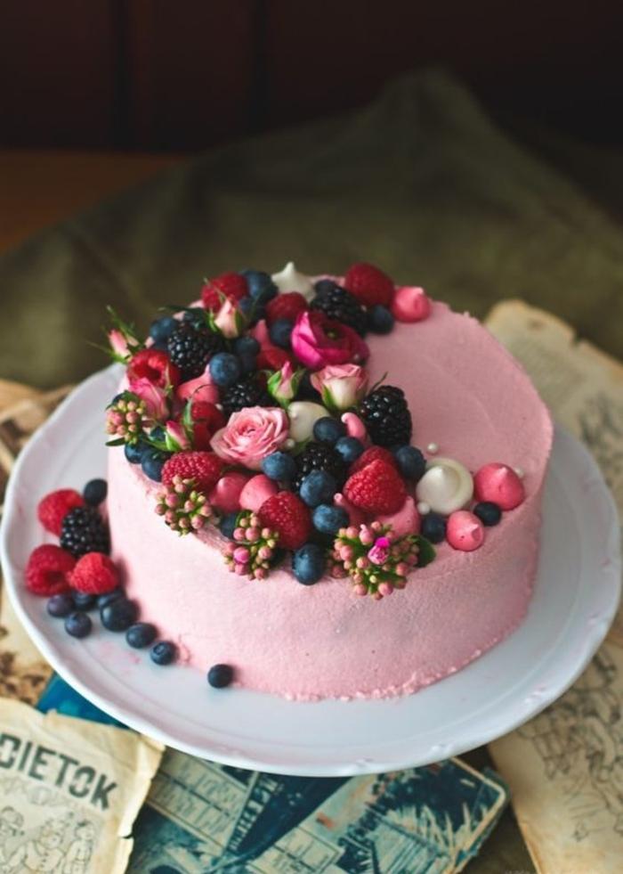 Excellent gâteau au yaourt aux fruits anniversaire iresistible