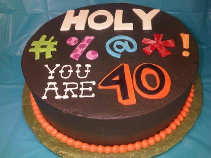 Meilleure gateau anniversaire original et facile gateau pour 40 ans amusant