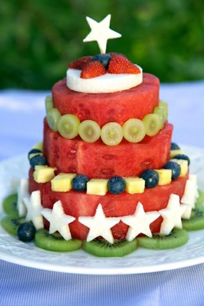 Attirant gâteau aux fruits frais gateau leger aux fruits tout en fruits